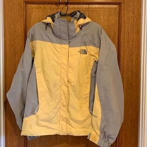 North Face shell overcoat